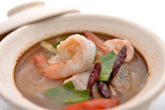 Tom yum in bowl Stock Photo