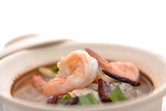 Tom yum in bowl Stock Photos