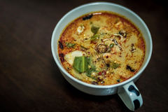 Tom-yum crevette Images stock