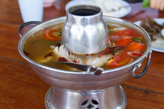 Tom Yum fish Stock Image
