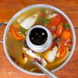 Tom Yum fish Stock Photo