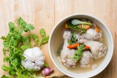 Tom Yum Gai, βόρεια σούπα κοτόπουλου ύφους πικάντικη Στοκ φωτογραφία με δικαίωμα ελεύθερης χρήσης