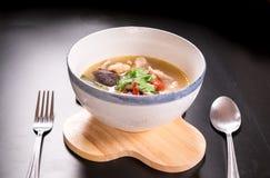 Tom Yum Gai, canja de galinha picante Imagens de Stock Royalty Free