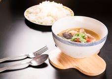 Tom Yum Gai, potage au poulet épicé Photos libres de droits
