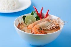 Tom Yum Goong, alimento tailandese Immagine Stock Libera da Diritti