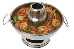 Free Tom Yum Goong Soup, Fire Pot Stock Image - 11261791