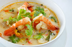 Tom Yum Goong Thai Food Royalty Free Stock Photo