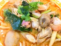 Tom yum goong Royalty Free Stock Photography