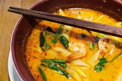 Tom Yum Goong. Thailand cuisine Tom Yum Goong Royalty Free Stock Image