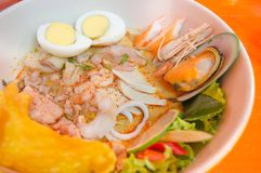 Tom yum hot spicy food thailand. Tom yum food royalty free stock images