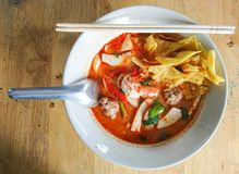 Tom yum kung Lizenzfreie Stockfotos