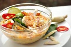 Tom Yum Kung em Tailândia Imagens de Stock