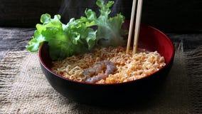 Tom Yum Kung Noodle fotografia de stock royalty free