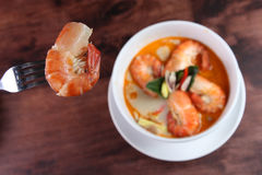 Tom Yum Kung Thai popular menu Royalty Free Stock Photography