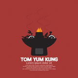 Tom Yum Kung. Tom Yum Kung Vector Illustration Stock Images