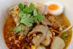 Tom Yum Noodle royalty-vrije stock afbeelding