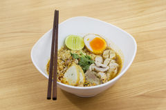 Tom Yum Noodle royalty-vrije stock foto
