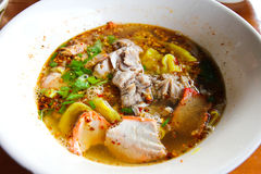 Tom yum noodle Stock Image