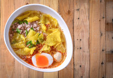 Tom Yum Noodle Royalty Free Stock Images