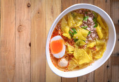 Tom yum noodles Stock Photography