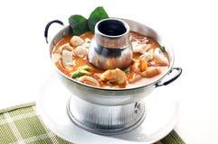 Tom Yum seafood Stock Image