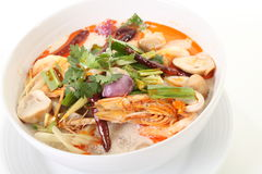 Tom Yum soppa Royaltyfria Foton