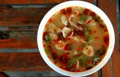 Tom Yum Soup royalty free stock photo
