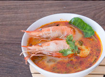 Tom Yum Soup Royaltyfri Bild
