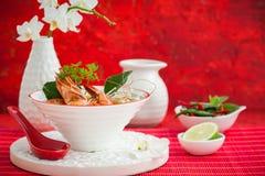 Tom Yum Soup royaltyfri fotografi