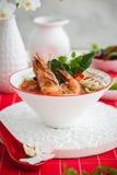 Tom Yum Soup Royaltyfria Foton