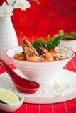 Tom Yum Soup Royaltyfri Bild