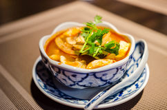 Tom Yum Soup Royaltyfria Bilder