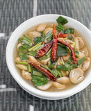Tom Yum Soup royalty-vrije stock foto