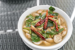 Tom Yum Soup stock foto's