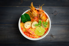 Tom Yum Soup Royalty Free Stock Images