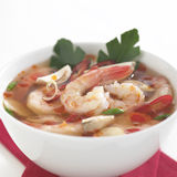 Tom Yum Soup, Thai Food. Asian bowl Stock Images