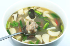 Tom yum with Spare Ribs Royalty Free Stock Photo