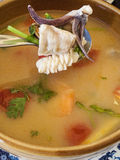 Tom yum talay soup Stock Image