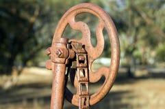 Toma abstracta en la maquinaria agrícola del vintage imágenes de archivo libres de regalías