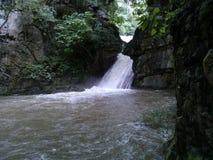 Toma del la de las cascadas Fotos de archivo libres de regalías