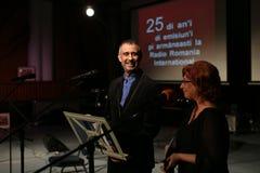 Toma Enache und Aurica Piha Lizenzfreies Stockfoto