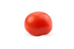 Tomaat op whit wordt geïsoleerd die Royalty-vrije Stock Afbeelding