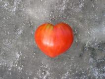 Tomaat van een hartvorm Stock Afbeelding