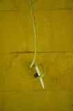 Tomada de dano na parede de pedra Imagem de Stock Royalty Free