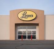 A tomada de Leon Imagens de Stock