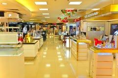 Tomada dos produtos do cuidado da beleza, Hong Kong Fotos de Stock Royalty Free