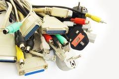 Tomadas do computador Foto de Stock