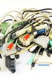 Tomadas do computador Fotografia de Stock