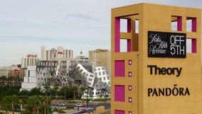 Tomadas superiores de Las Vegas sul em Nevada Imagem de Stock Royalty Free