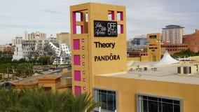 Tomadas superiores de Las Vegas sul em Nevada Fotos de Stock Royalty Free